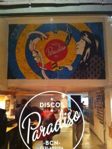 Discos Paradiso in El Raval, Barcelona, Spain.