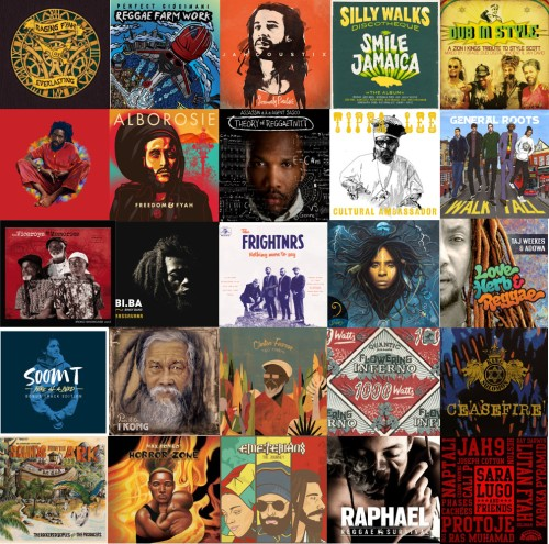Top 25 reggae albums in 2016 | Reggaemani